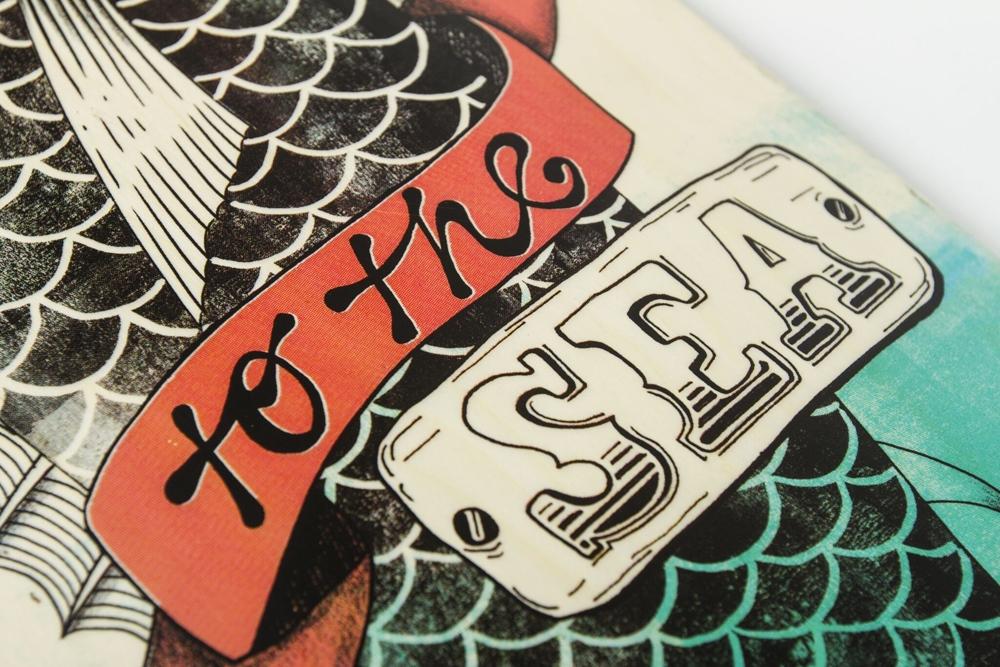 Dusters Longboard Komplett Set Tuna
