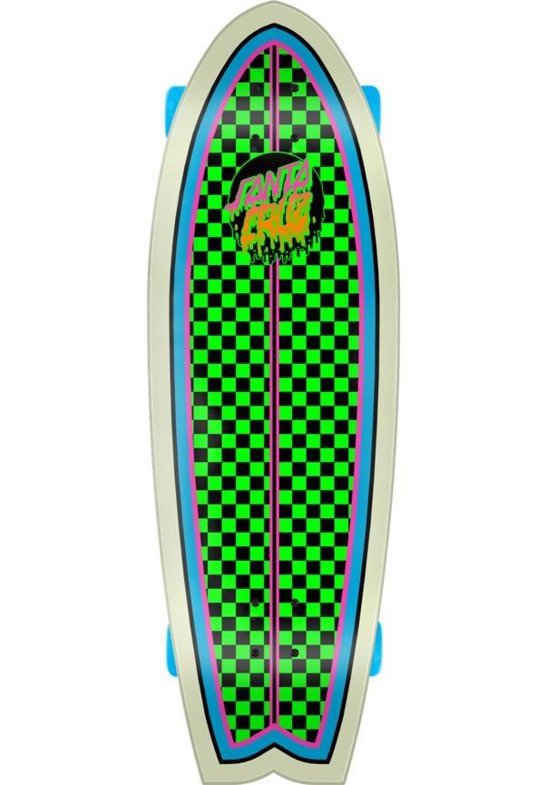 Santa Cruz Rad Dot Shark 8.8 Größe: 8.8 Farbe: neongreenb