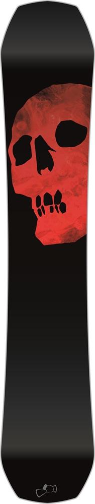 Capita Black Snowboard of Death - 162cm Größe: 162