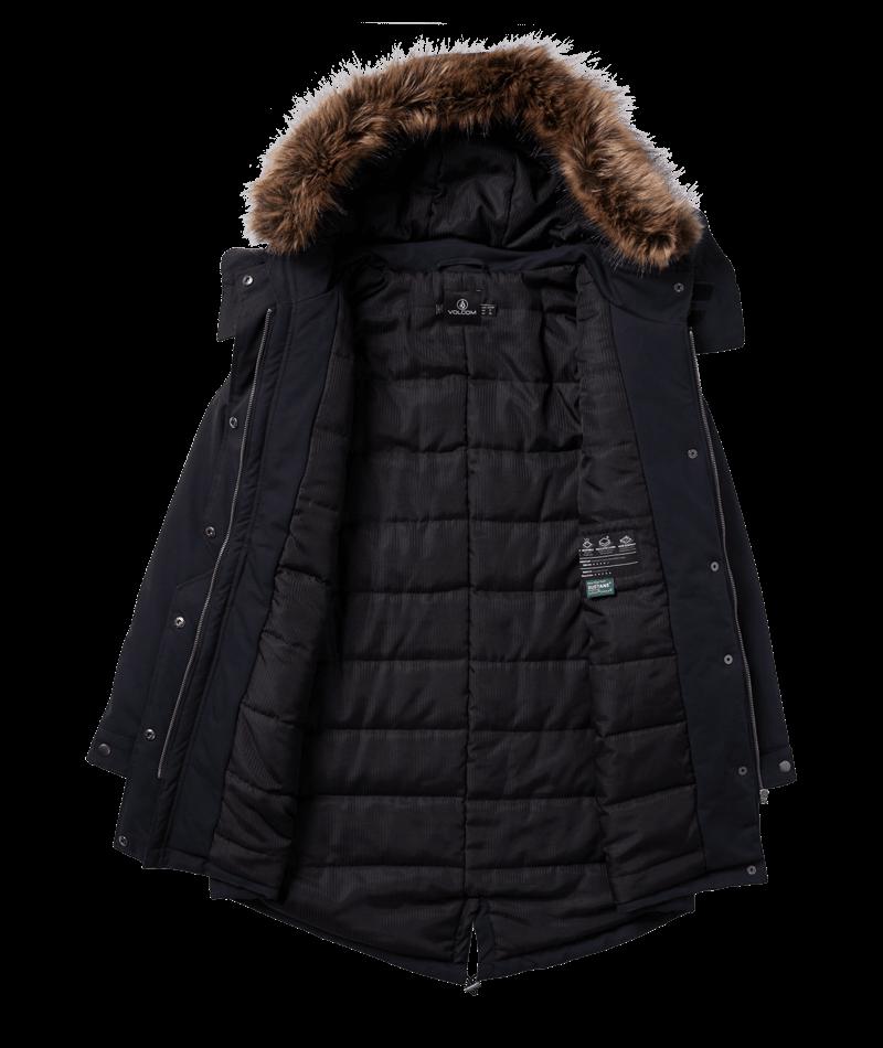 Volcom Rainy Shiny 5K - black Größe: S Farbe: black