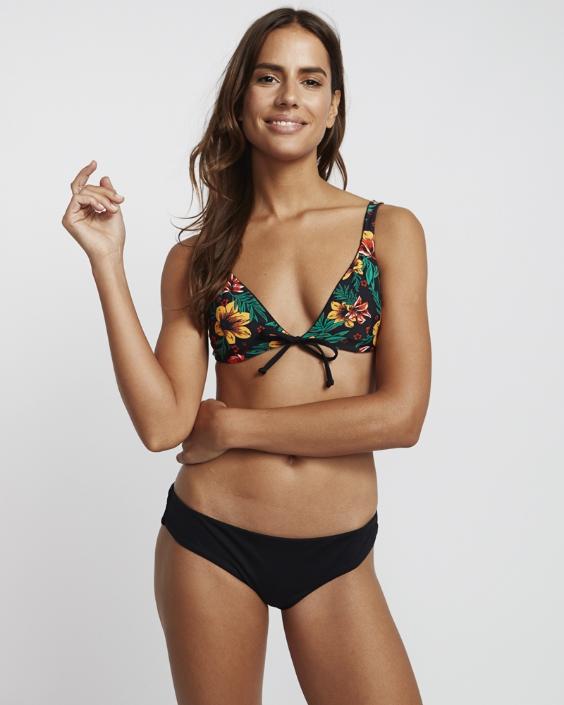 Billabong Bahamas Reversible Tri - black pebble Größe: M Farbe: blackpebbl