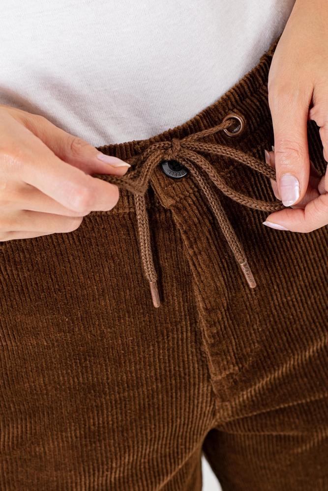 Reell Reflex Loose Chino - brown cord Größe: XS Braun: browncord