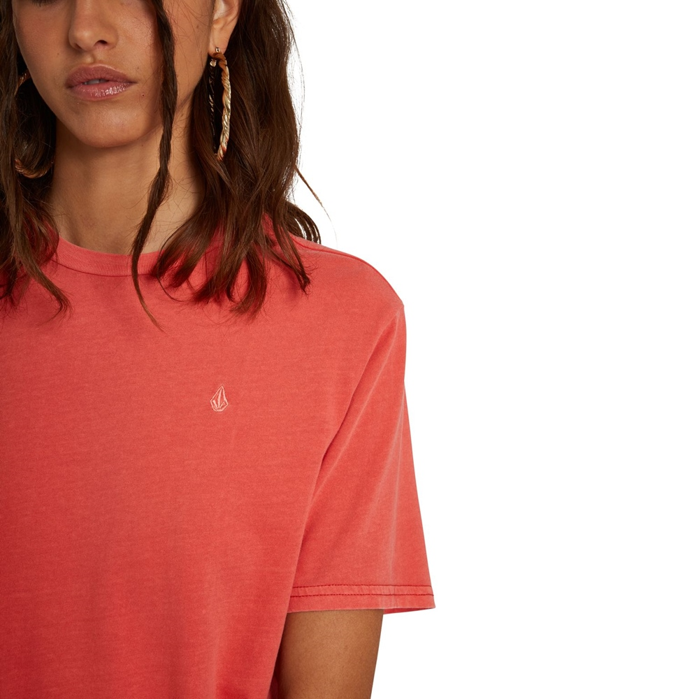 Volcom Solid Stone Emb - rosewood Größe: M Rot: rosewood