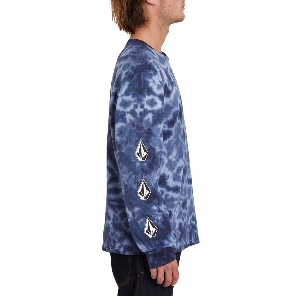 Volcom Iconic Stone Tie Dye - multi Größe: S Blau: multi