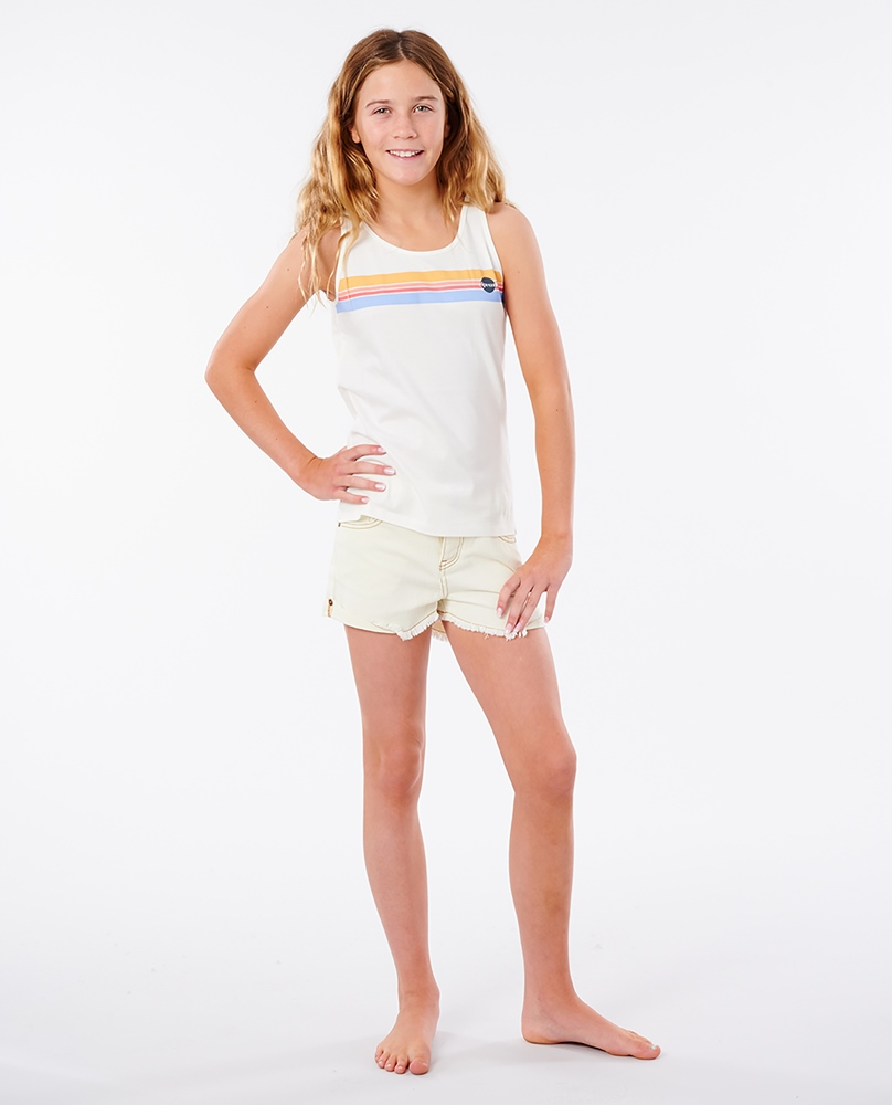 Rip Curl Golden State Girl - bone Größe: 116_S Weiss: bone