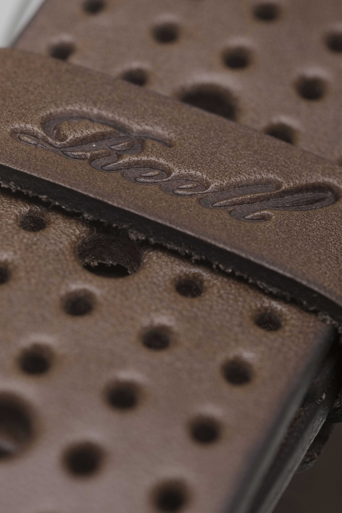 Reell Punched Belt - brown Größe: L/XL Farbe: Brown