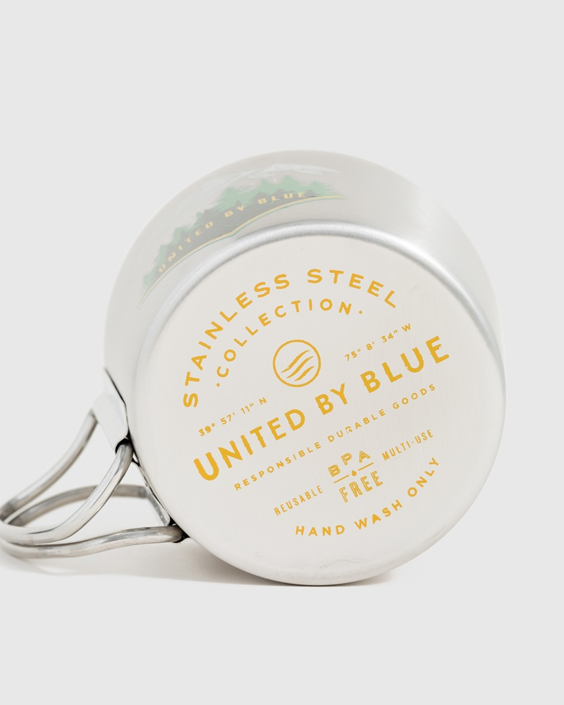 United By Blue High Road 12OZ / 355ml - stainless steel Menge: 12OZ 355ml Farbe: stainlesss