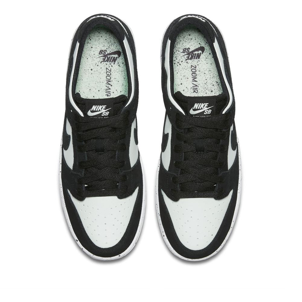 Nike SB Dunk Low Pro SB - black/barley green Größe: 10½ Farbe: BlackBlack