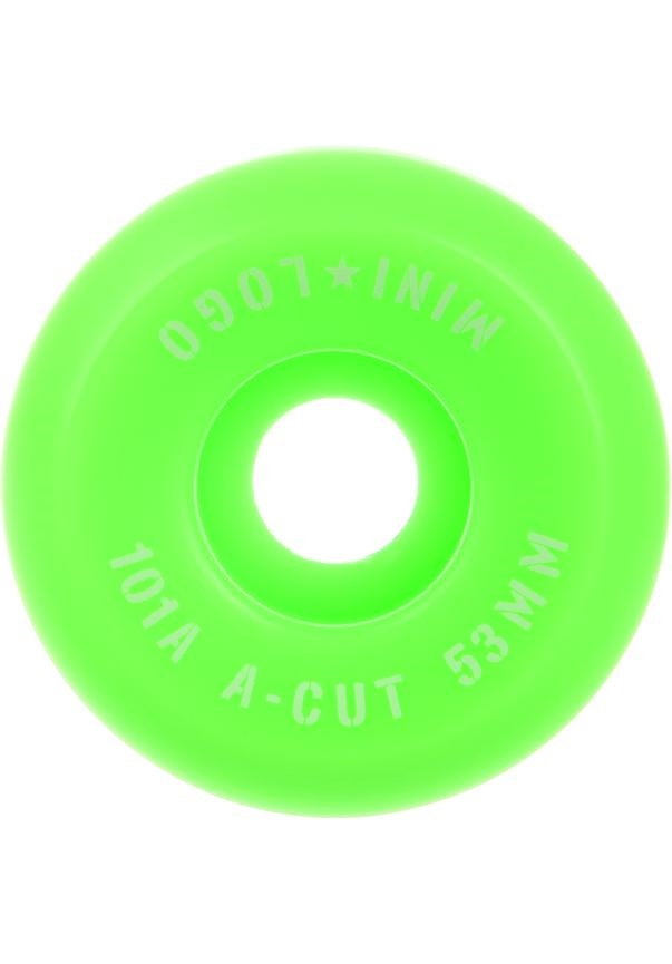 Minilogo A Cut 101A 52mm - green Größe: 52 Grün: green