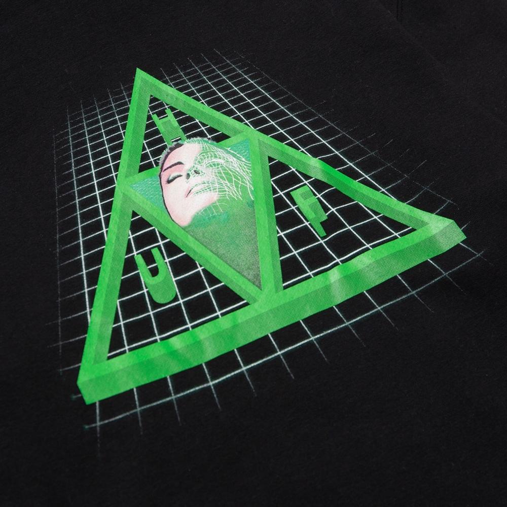 Huf Digital Dream Triple Triangle - black Größe: M Schwarz: black