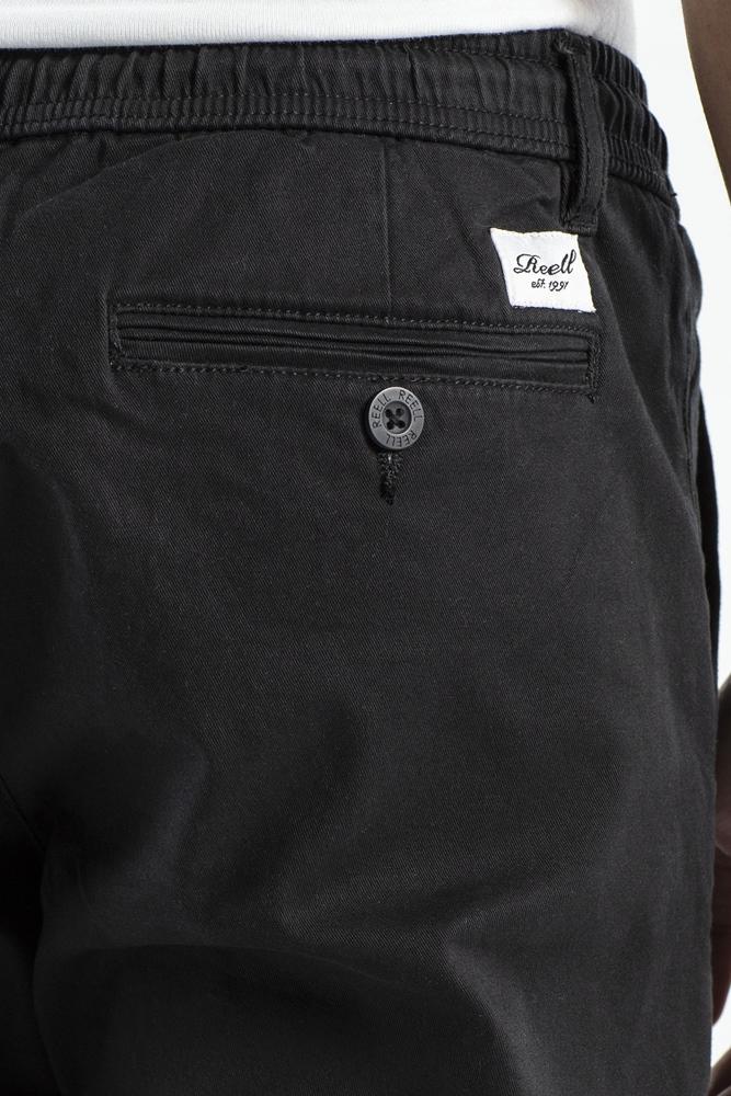 Reell Reflex Easy ST - black Größe: M Long Schwarz: black