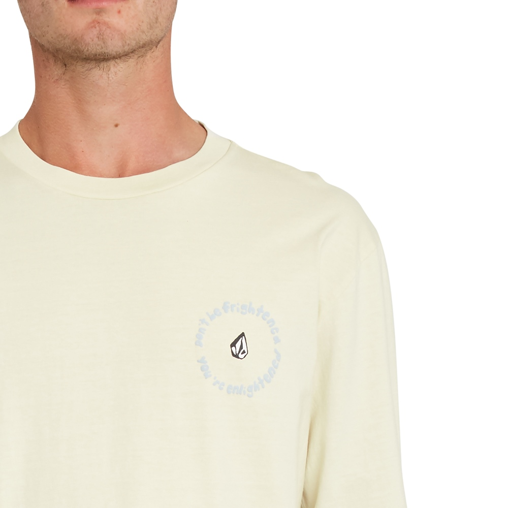 Volcom Ozzy Wrong - off white Größe: S Weiss: offwhite