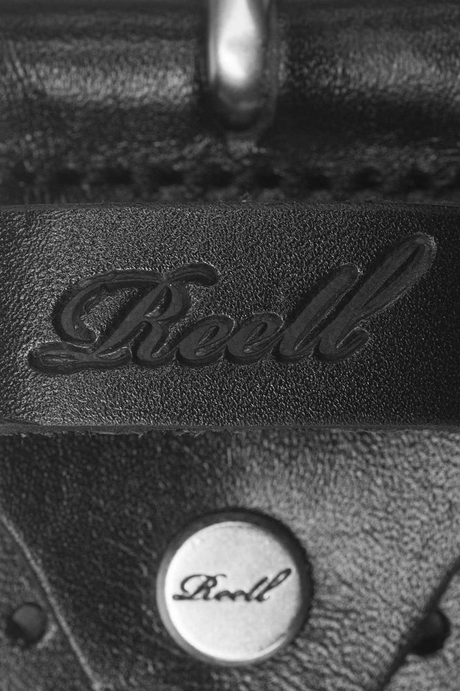 Reell Punched Belt - black Größe: S/M Farbe: Black