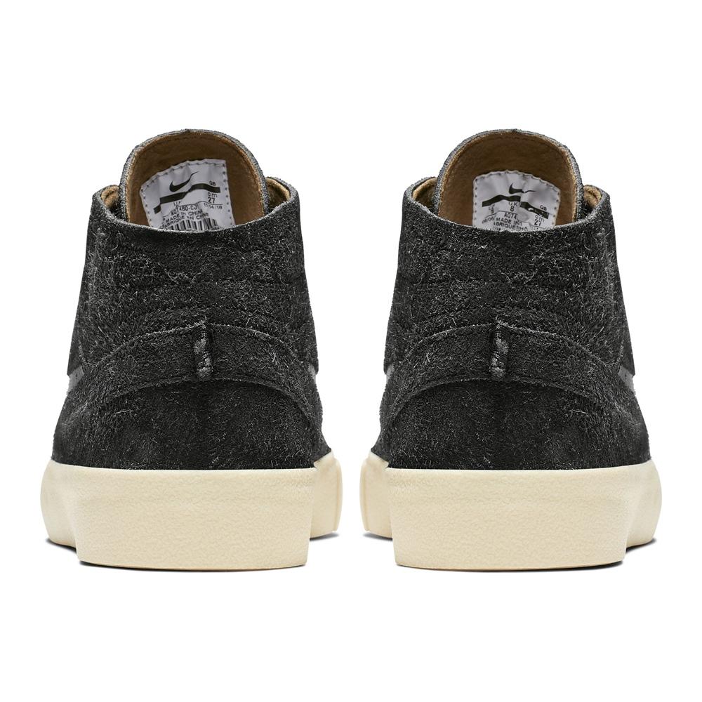 Nike SB Stefan Janoski Mid - black Größe: 9 Farbe: black