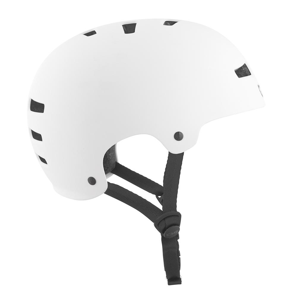 TSG Evolution Solid Colors - satin white Größe: S/M Farbe: SatinWht