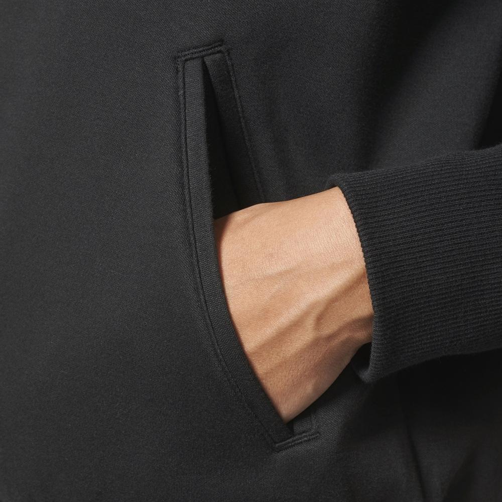 Adidas 3 Streifen Tracktop - black Größe: M Farbe: Black