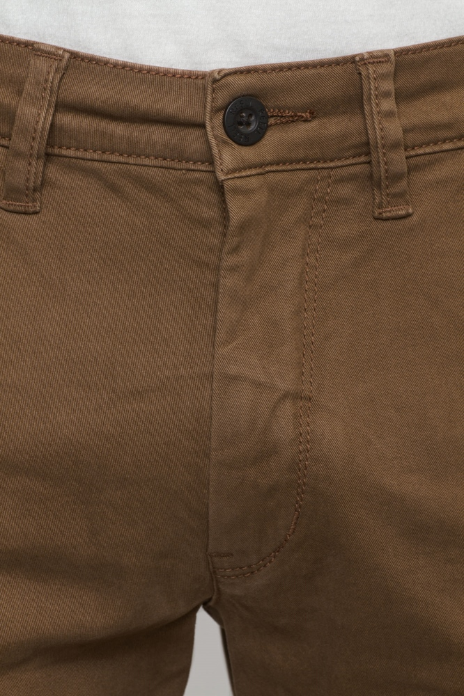 Reell Flex Tapered Chino - brown Größe: 33/32 Farbe: Brown