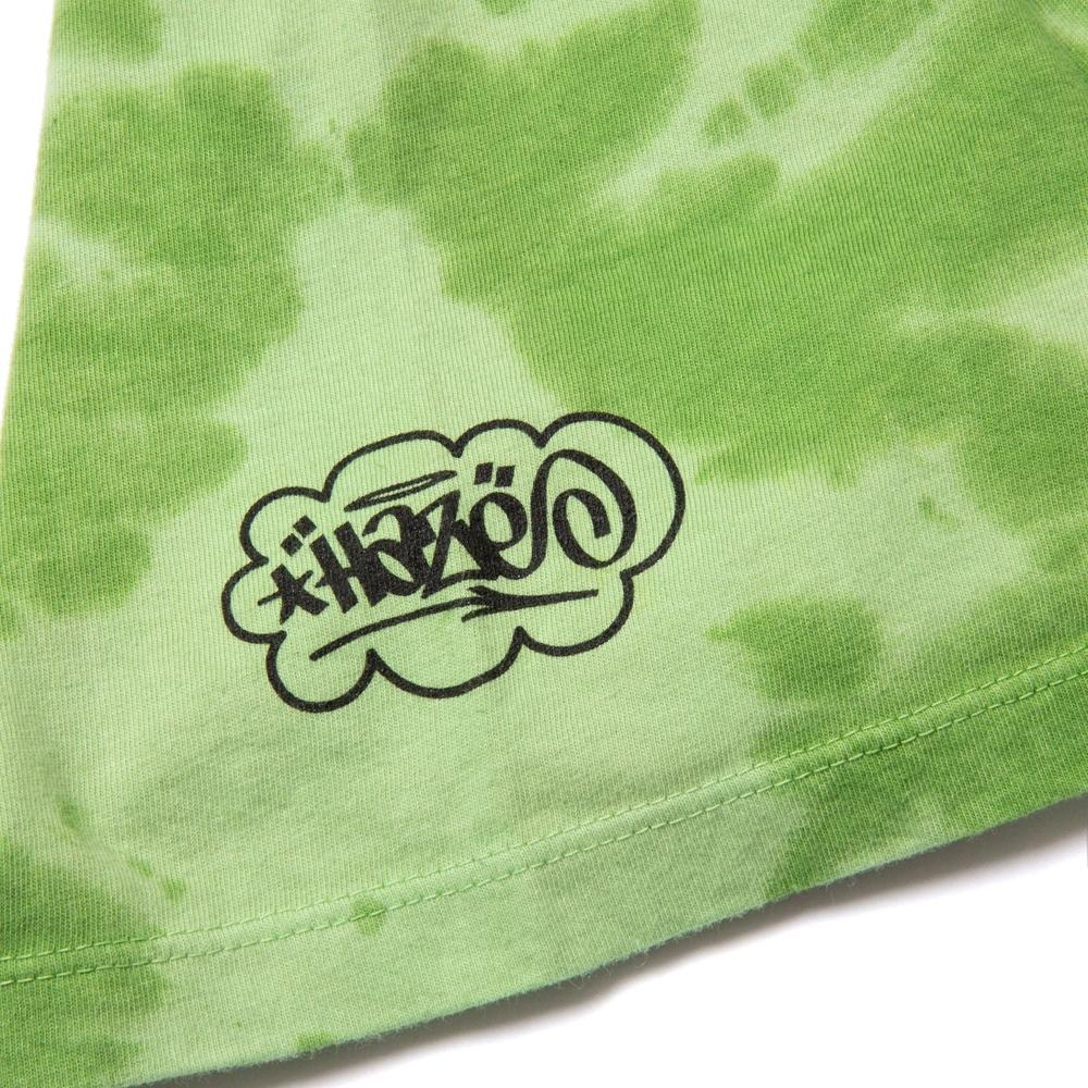 Huf Haze Brush Tie Dye - lime Größe: M Grün: lime