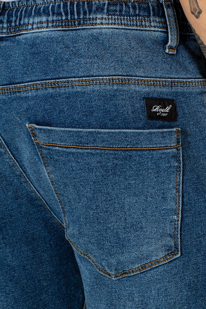Reell Jogger Jeans - mid blue 3 Größe: S Farbe: midblue3