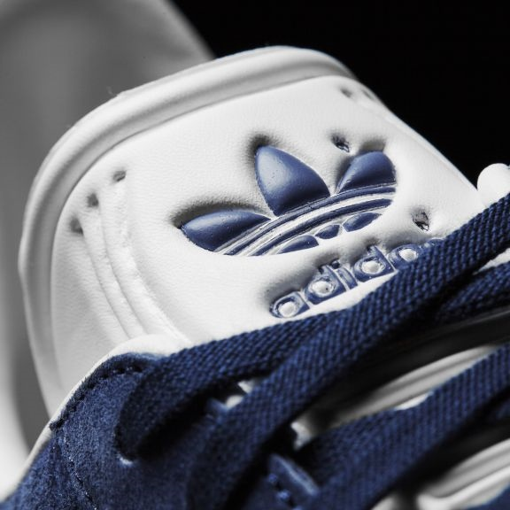 Adidas Gazelle Sneaker - collegiate navy/white Größe: 11½ Farbe: CoNavyWht