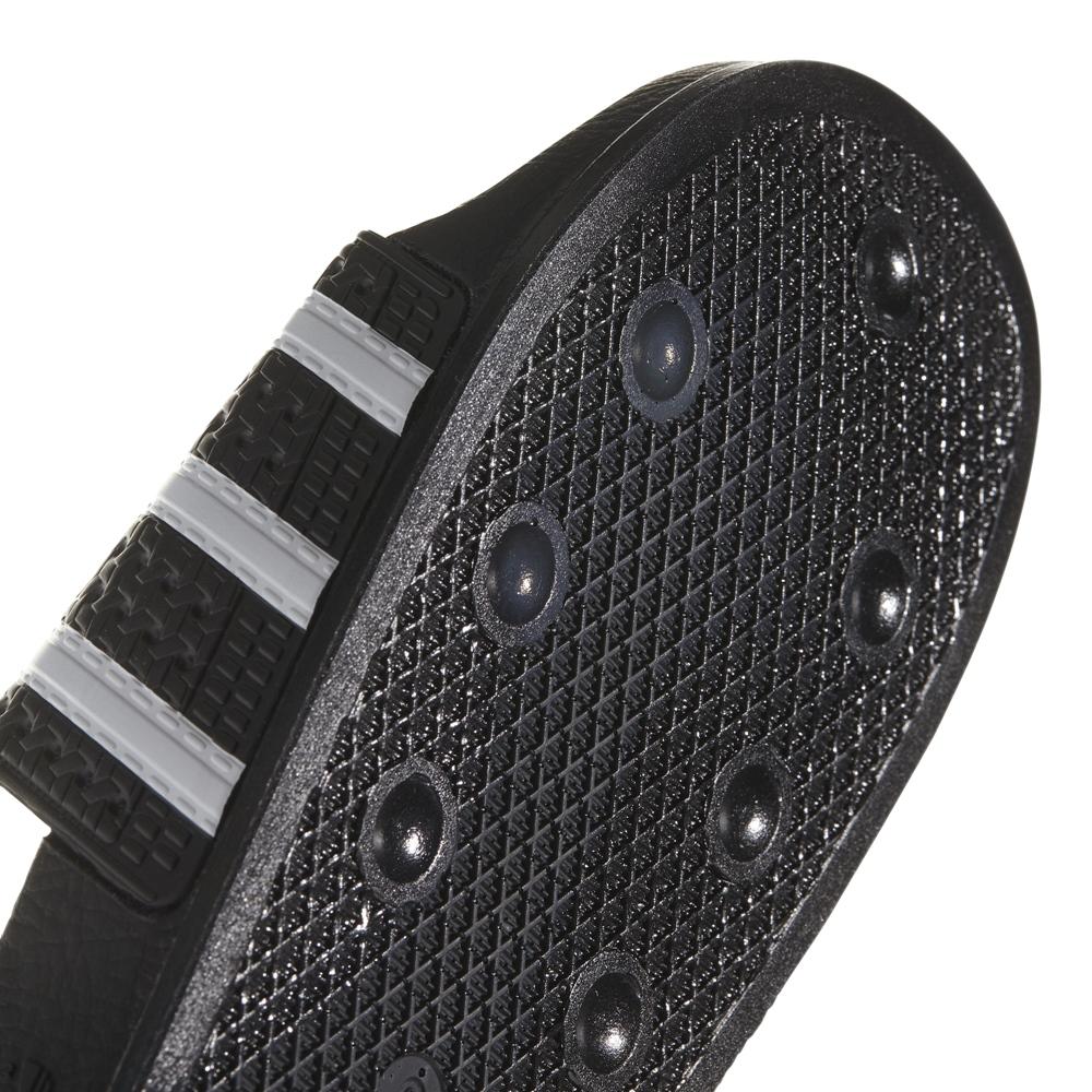 Adidas Adilette - black white black Größe: 4 Farbe: blackwhite
