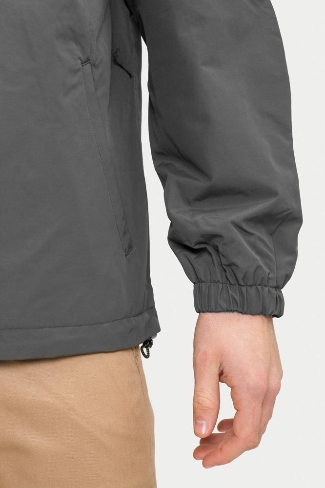 Reell Hooded Windbreaker - grey Größe: L Farbe: Grey
