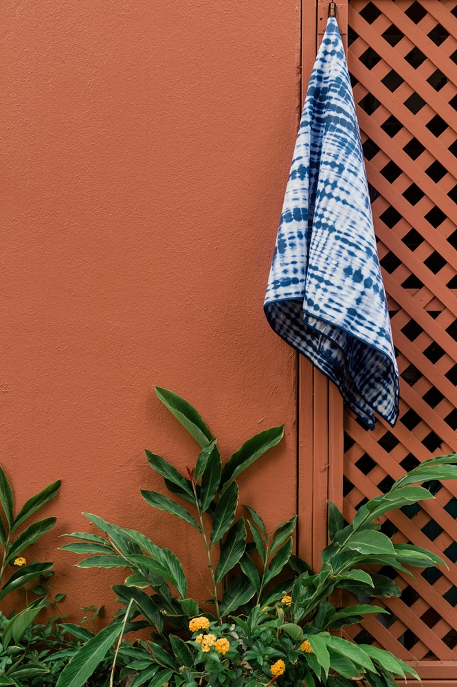 Slowtide Suva Travel Towel 76cm x 152cm - indigo Größe: 76 x 152 Farbe: indigo
