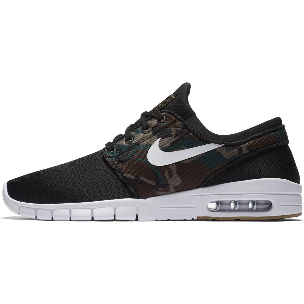 Nike SB Stefan Janoski Max - black Größe: 8 Farbe: blackwhite