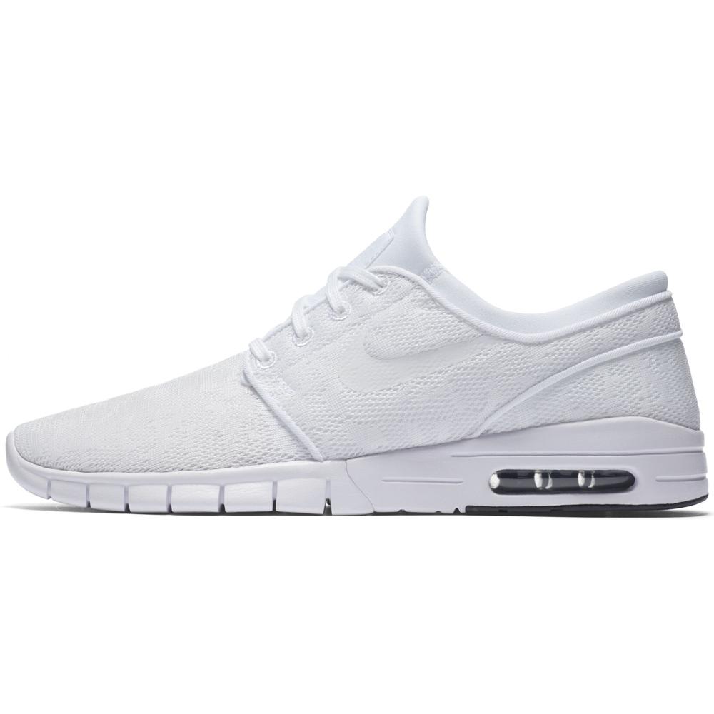 Nike SB Stefan Janoski - white white Größe: 6½ Farbe: whitewhite